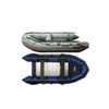 China PVC Rigid Inflatable Sail And Pontoon Boat Wth Trailer