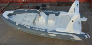How long does a PVC dinghy be used?