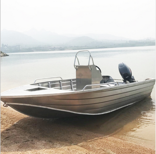 DeporteStar 2018 New 16ft Aluminum Fishing Runabout Motor Boat for Sale