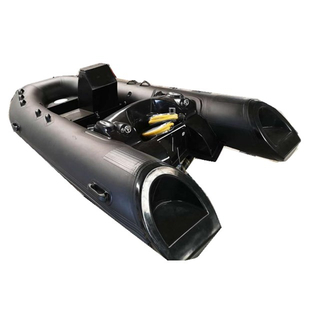 Chinese Factory Fiberglass Hull Rigid Inflatable Boat Rib Boat For Italy