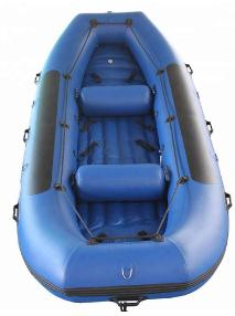 Hypalon/PVC Material River Rafting Boat Price