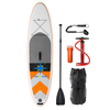 Inflatable SUP Stand Up Bamboo Paddle Board For Water Sports